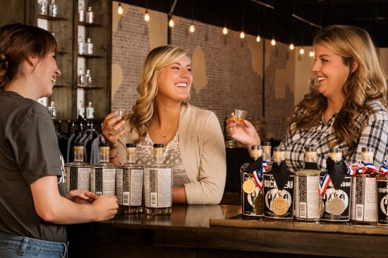 Bowling Green, KY: Go behind the scenes and sample craft spirits at Corsair Distillery.