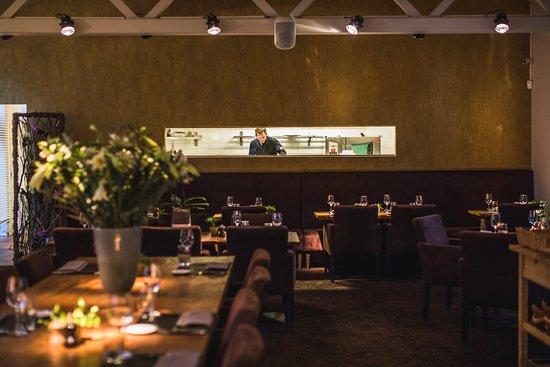 Aartselaar, Belçika: Restaurant