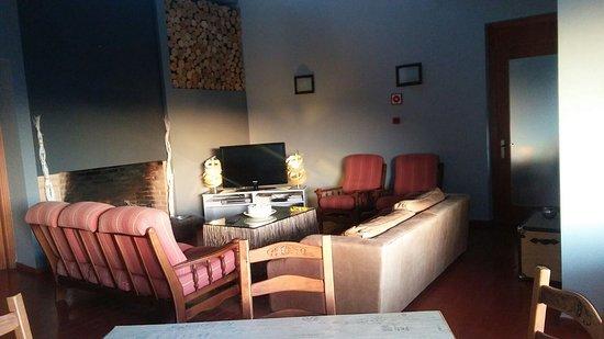 San Martin del Castanar, Spain: Salón de estar