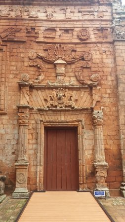 Trinidad, Paraguay: Decoração rica dos portais