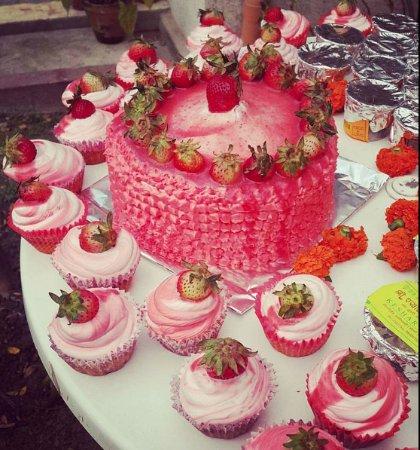 Vanilla Strawberry Shortcake - Picture of The Bent Fork, Kathmandu
