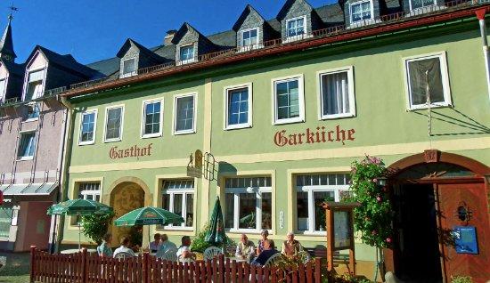 Leutenberg, Germania: Blick auf Fassade.