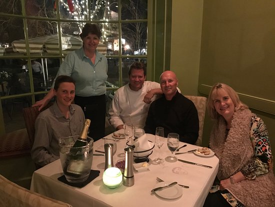 perfect christmas meal at fat canary with tommy and tink - Tommy Christmas