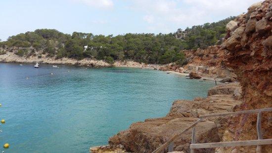 Playa Cala Salada: zona libera