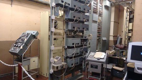 Scotland's Secret Bunker: telephone exchange