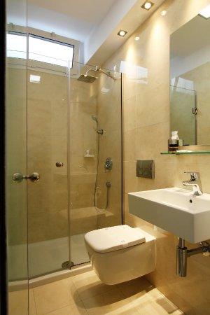 The Bathroom With Italian Tiles And