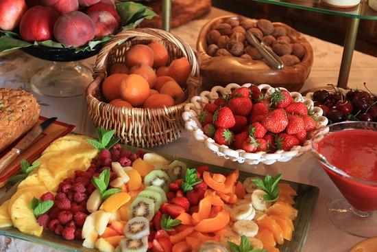 Aureille, Γαλλία: le petit déjeuner