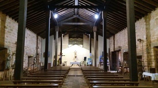 San Cosme y Damian, Paraguay: Interior da Igreja da Missão de San Cosme