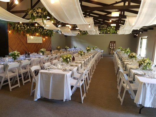 Mt Vernon Lodge: Function room - wedding setting