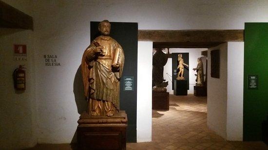 San Ignacio, Paraguay: Salas do Museu