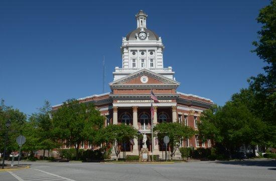 Madison, GA: il palazzo da fuori