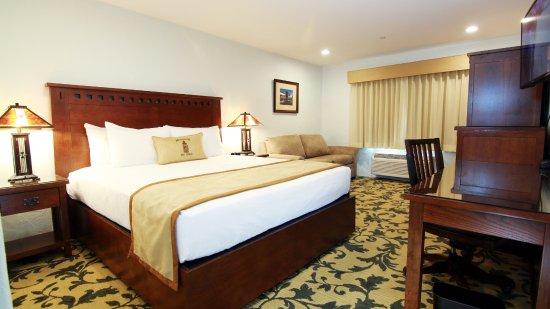 Santa Nella, CA: Newly Renovated Single King Deluxe Room