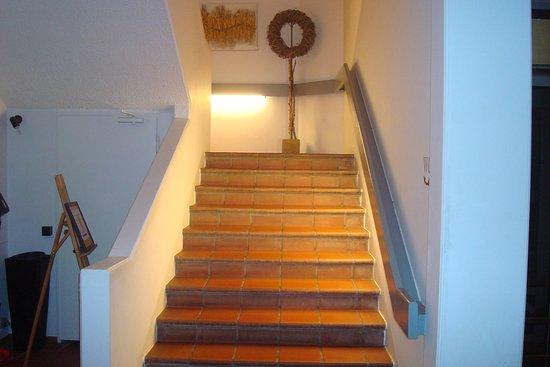 Altstadt-Hotel Passau: Staircase
