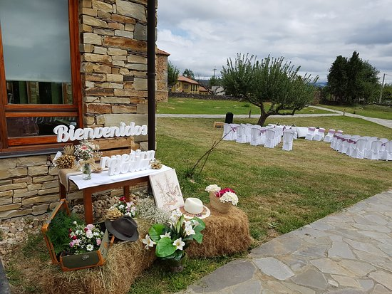 Pandorado, إسبانيا: Photocall boda