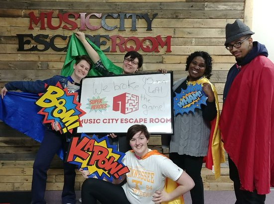 Music City Escape Room