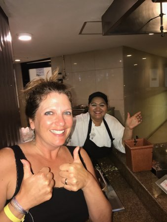 "Hard Rock Hotel Vallarta: Erica - amazing ""egg-cellent"" omelets!"