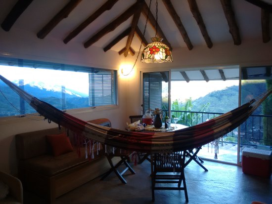 Refugio la Toscana: Vean la vista Espectacular