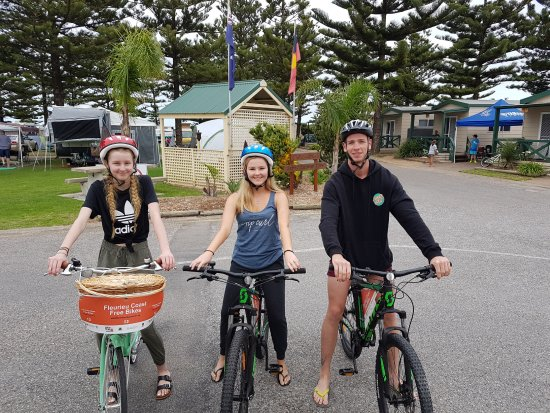 Jetty Caravan Park Normanville: Free Bike Hire available