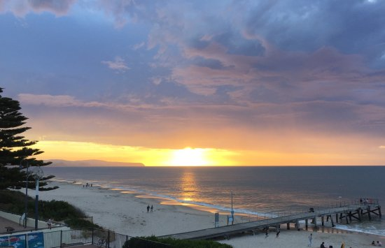 Jetty Caravan Park Normanville: Magnificent Sunset
