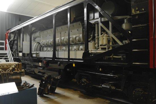The Danish Railway Museum: GM technic