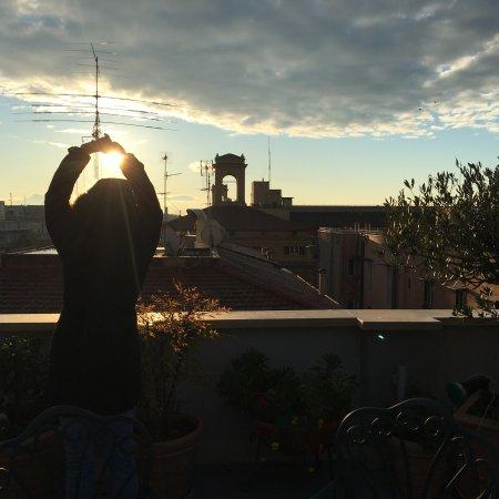 Marcella Royal Hotel : Terraza con encanto en Roma