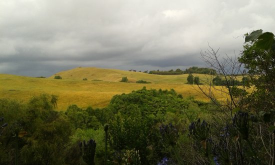 Whanganui, New Zealand: extensive views over the countryside