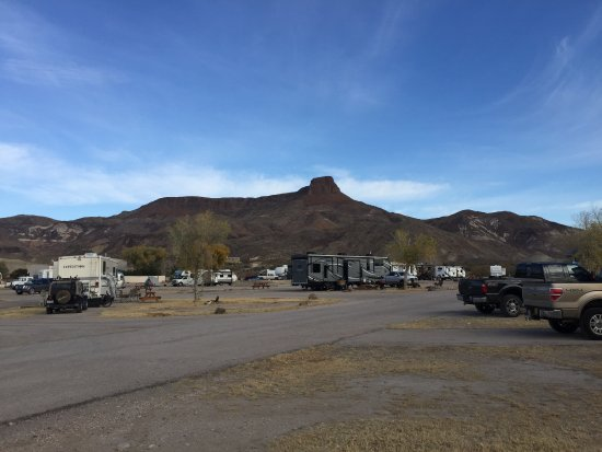 Maverick Ranch RV Park: View from our site; never got tired of the view.
