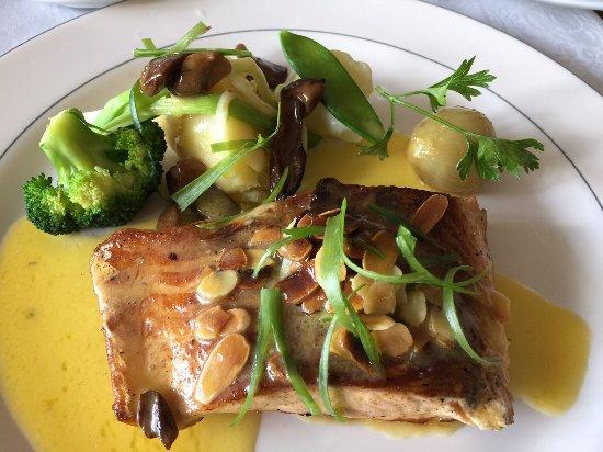 Fish with lovely bureau blanc sauce picture of la petite auberge