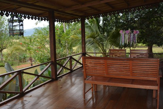 Sunset Valley Holiday Houses: Wang Casita veranda