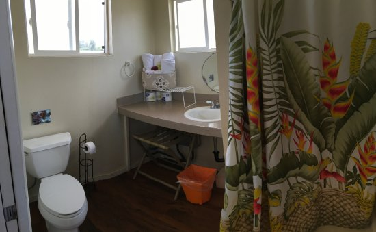 Mokuleia, هاواي: Full bathroom