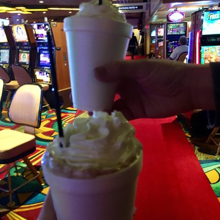 Hollywood Casino Joliet: Hot chocolate