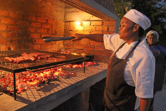 Cape St Francis, Afrika Selatan: Traditional South African fare
