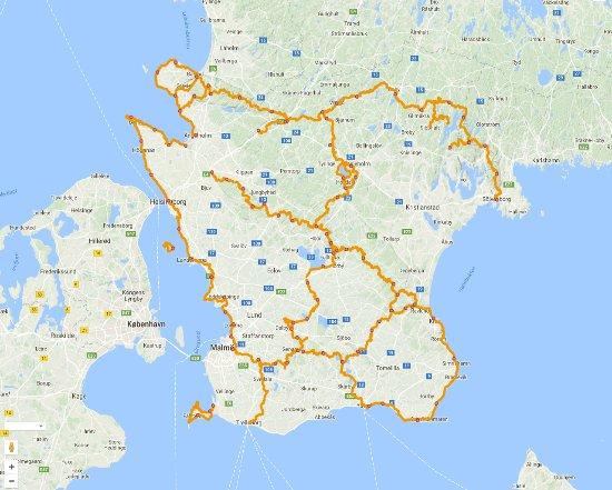 Skåne, Svezia: Mer än 100 mil underbar natur väntar dig