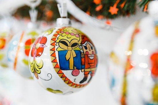 Christmas Art мастерская елочных игрушек