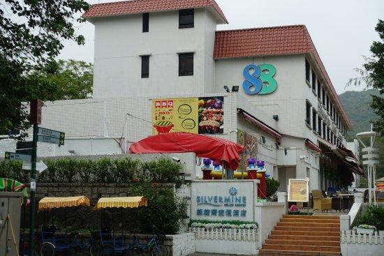 Mui Wo Scenic Resort : 銀鑛灣渡假酒店