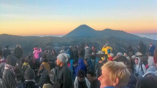 Tengger Caldera, Indonesien: Di Puncak Bromo