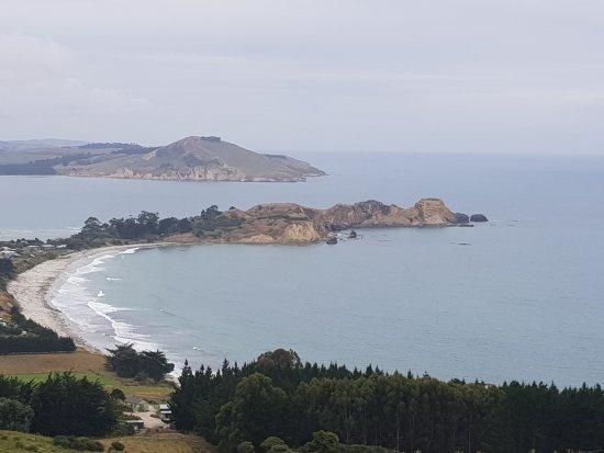Waikouaiti, นิวซีแลนด์: View to the Pa