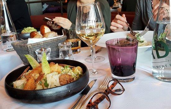 Bellevue, Schweiz: Mooi eten, wel erg duur