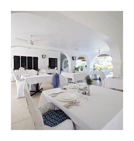 Khem Villas: Dinning area