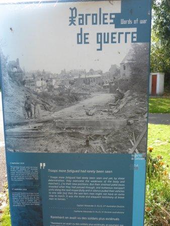 Historial de la Grande Guerre : One of Many History Boards