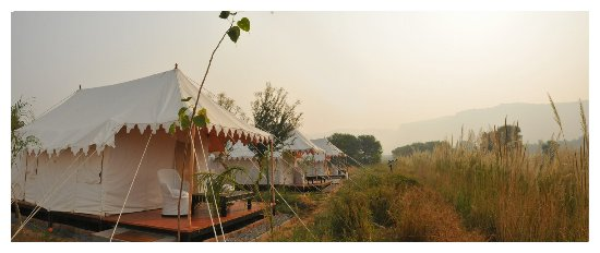 Khem Villas: Luxury tents overlooking the Ranthambhore escarpment