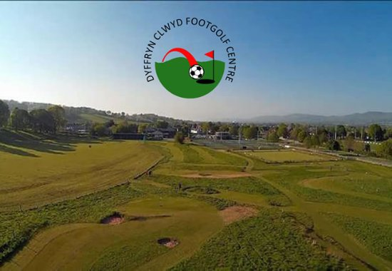 Ruthin, UK: Just a lovely place to play footgolf.