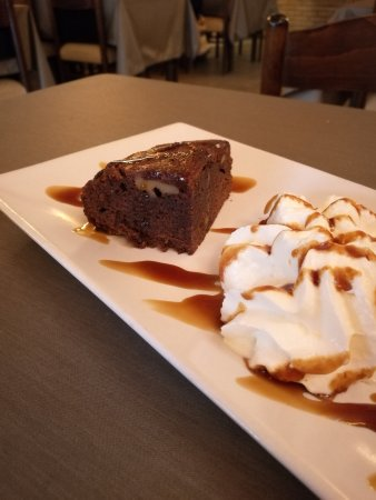 Brownie de chocolate - Restaurant EL GOTIM (L'Escala-Girona)