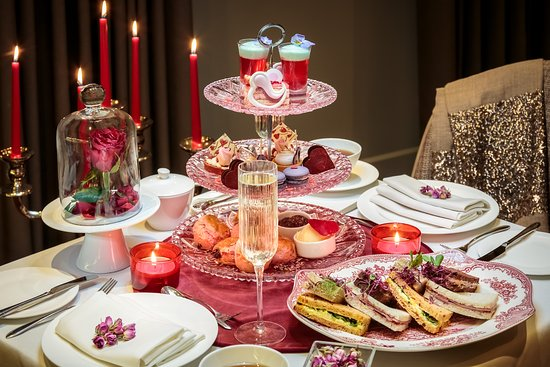 The Enchanted Rose Afternoon Tea for Valentine\'s 2018 - Picture of ...