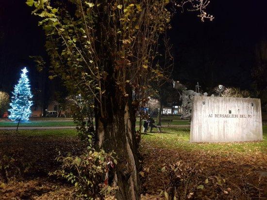 Monumento dei Bersaglieri del Po