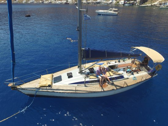 Santorini Exclusive Sailing Odysseas Sailing Yacht: Yacht
