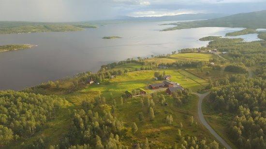Tarnaby, Sverige: Vy över Virisen