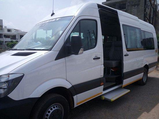 Tempo Traveller Hire Delhi: 9 Seater Mercedes Benz Van Rental Delhi | Mercedes  Sprinter Minivan