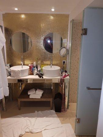 azul beach resort sensatori jamaica by karisma bathroom in old block wardrobes on the left - Bathroom Designs Jamaica