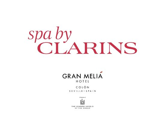 ‪SPA GRAN MELIA COLON (by Clarins)‬